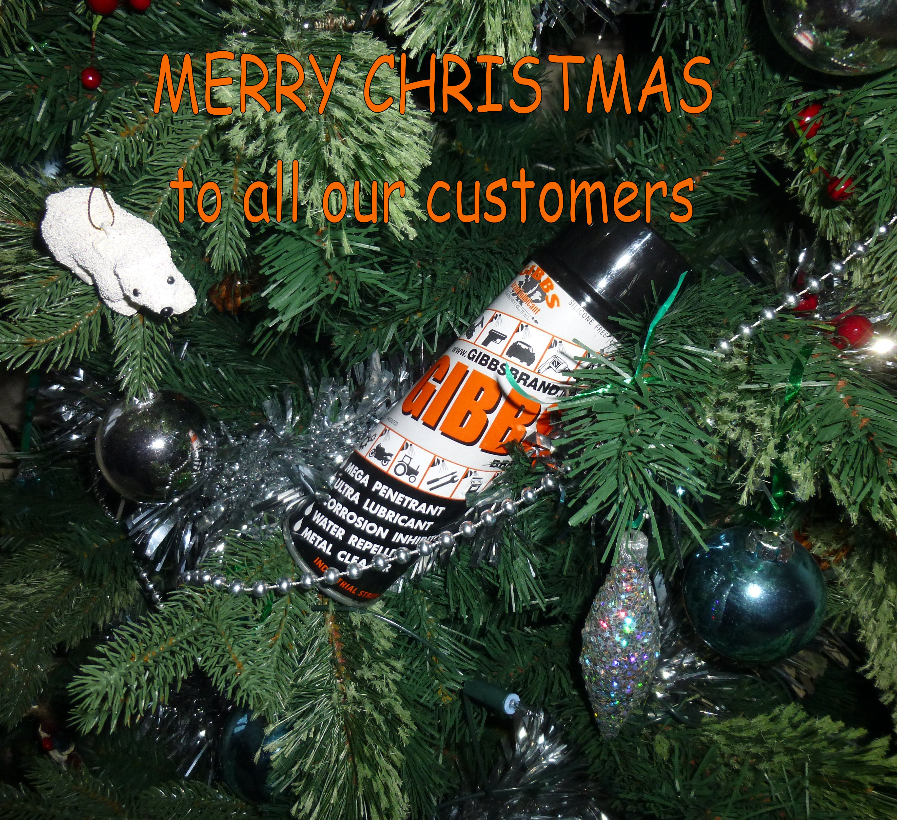 Seasons Greetings To All Our Customers The Gibbs Brand Blog